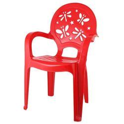 Pucuś Krzesełko dziecięce czerwone