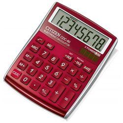 Kalkulator biurowy CITIZEN CDC-80 RDWB, 8-cyfrowy, 135x80mm, czerwony, CI-CDC80RDWB