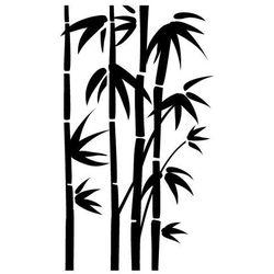 Szablon malarski, wielorazowy, wzór flora 191 - bambusy - mega marki Szabloneria