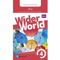 Wider World 4 eBook Students´ Access Card neuveden (9781292107066)