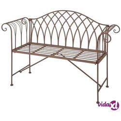 ławka ogrodowa, metalowa, styl staroangielski mf009 marki Esschert design