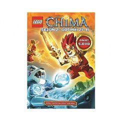 LEGO Chima. Kompletna kolekcja 2. Części 6-10 (5 DVD) - sprawdź w wybranym sklepie