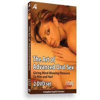 Alexander institute Sexshop - dvd edukacyjne -  the art of advanced oral educational dvd - seks oralny dla zaa