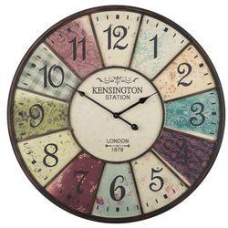 Zegar ścienny kolorowy boswil marki Beliani