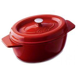 arcana brytfanna żeliwna owalna 40 cm czerwona marki Fissler