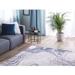 Dywan beżowo-niebieski 160 x 230 cm krótkowłosy GEBZE (4260624113104)