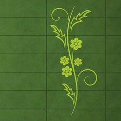 Kwiaty 1227 szablon malarski marki Deco-strefa – dekoracje w dobrym stylu