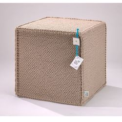 Puf Beauty Cube Beige by We Love Beds