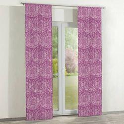 Dekoria zasłony panelowe 2 szt., ciemny pudrowy róż, 60 x 260 cm, mirella