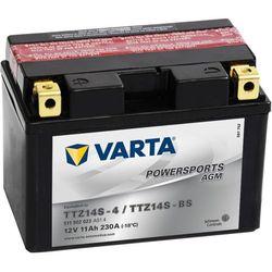 akumulator motocyklowy powersports agm ttz14s/ttz14-bs od producenta Varta