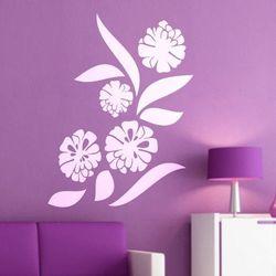 Kwiaty 982 szablon malarski marki Deco-strefa – dekoracje w dobrym stylu