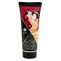 Shunga - strawberry wine kissable massage cream 200 ml marki Shunga (can)