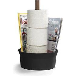 Stojak na papier toaletowy Born in Sweden czarny (7340030802209)