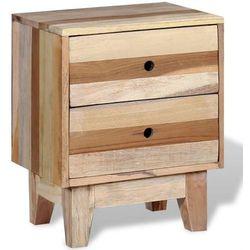 vidaXL Szafka nocna z drewna odzyskanego (8718475531036)