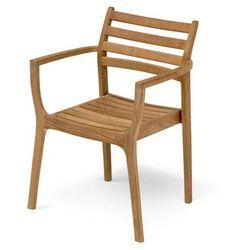 Skagerak denmark Skagerak adria krzesło ogrodowe - drewno tekowe, kategoria: krzesła ogrodowe