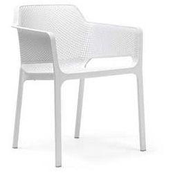 Krzesło ogrodowe na taras Net Nardi białe z kategorii Krzesła ogrodowe