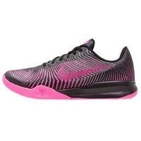 Nike Performance MENTALITY 2 Obuwie do koszykówki black/pink blast/wolf grey