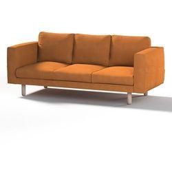 pokrowiec na sofę norsborg 3-osobową, kakao, sofa norsborg 3-osobowa, etna marki Dekoria