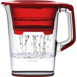 Aeg Dzbanek filtrujący  9001669820, przezroczysty, czerwony (przezroczysty) (7319599011773)
