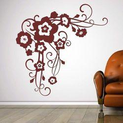 Kwiaty 1190 szablon malarski marki Deco-strefa – dekoracje w dobrym stylu