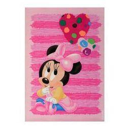 Różowy dywan dziecięcy Baby 100x150 akryl / Gwarancja 24m / NAJTAŃSZA WYSYŁKA!