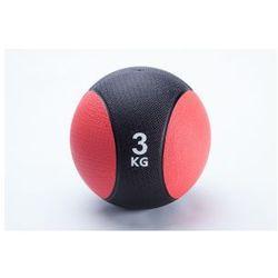 Piłka lekarska gumowa, piłka rehabilitacyjna 3kg od producenta Fitm