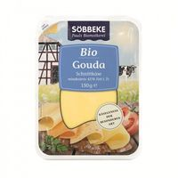 Sobbeke Ser gouda - plastry bio 150g (4008471510086)