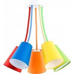Wire colour dziecięca 2107 106cm pomarańczowy żółty zielony niebieski czerwony marki Tk lighting