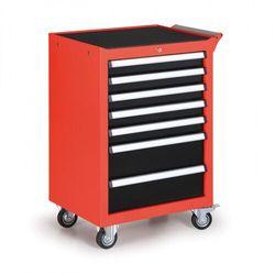 Pojemnik na narzędzia na kółkach, 7 szuflad marki B2b partner