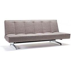 sofa odin szarobeżowa 521 stelaż chromowany - 741004521-741004-0-2 wyprodukowany przez Innovation istyle
