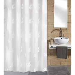 zasłona łazienkowa canton, 180×200 cm, biała marki Kleine wolke