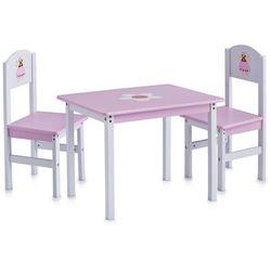 Stolik dziecięcy PRINCESS + 2 krzesełka, ZELLER (4003368134420)