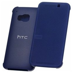Etui Dot View HTC HC M231 Niebieskie do HTC ONE M9 (99H20103-00) - Niebieski - produkt z kategorii- Pozostałe