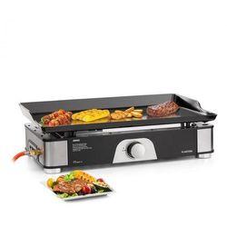 Klarstein orfeo, grill stołowy gazowy, 3,5 kw, 350 °c, instantready concept, czarny (4060656154577)