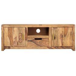vidaXL Szafka pod TV, 118 x 29 x 42 cm, lite drewno sheesham
