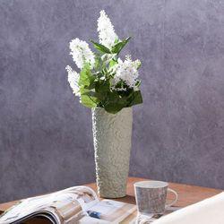 Dekoria Wazon Flowers pistacja wys. 22,5cm, 22,5cm