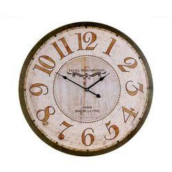 Emako Drewniany zegar ścienny hotel westminster, Ø 60 cm