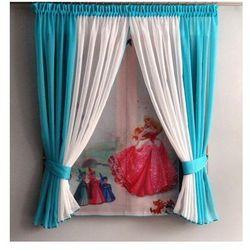 Kasandra Firanka dla dzieci 150x350 cm kopciuszek