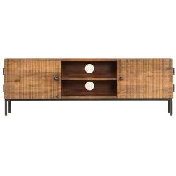 vidaXL Szafka pod TV, 120x30x40 cm, lite drewno mango