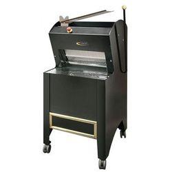 Krajalnica do pieczywa   pół-automatyczna   ładowana od góry   550W   czarna - produkt z kategorii- Krajal