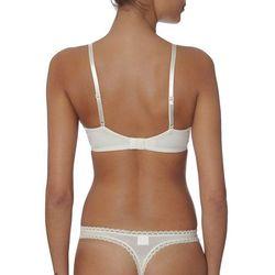 Calvin Klein Underwear SEDUCTIVE COMFORT Biustonosz pushup ivory, materiał nylon  elastan, biały