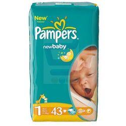 Pampers New Baby Pieluchy rozmiar 1 newborn 43 szt. - sprawdź w wybranym sklepie