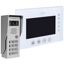 Vidos Zestaw wideodomofonu natynkowego z szyfratorem s50d m670ws2