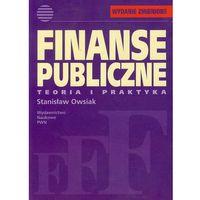 Finanse publiczne Teoria i praktyka, Owsiak Stanisław