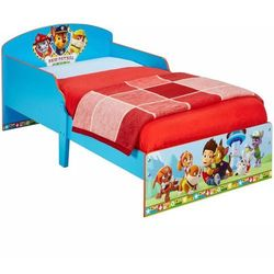 Paw Patrol (Psi Patrol) Łóżko dziecięce, 145 x 59 77 cm, niebieskie (5013138660416)