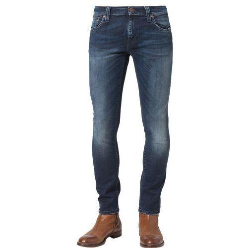 Nudie Jeans TIGHT LONG JOHN Jeansy Slim fit organic blue dot - sprawdź w Zalando.pl