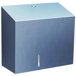 Pojemnik na papier toaletowy Merida Stella Maxi stal szlachetna matowa