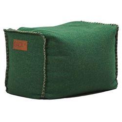 Pufa SACKit SQUAREit Cobana Outdoor 60x35x40 zielona, kolor zielony