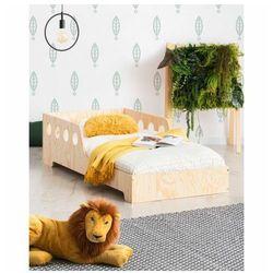 Drewniane dziecięce łóżko w stylu skandynawskim 16 rozmiarów - filo 8x marki Producent: elior