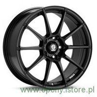 Felga aluminiowa Sparco Assetto Gara Black 7,5X17 5X112 ET35